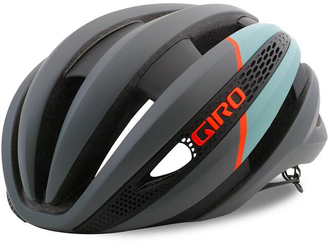Giro Synthe MIPS Cykelhjälm grå/turkos